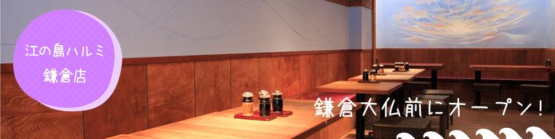 鎌倉大仏前にある和食店 春海